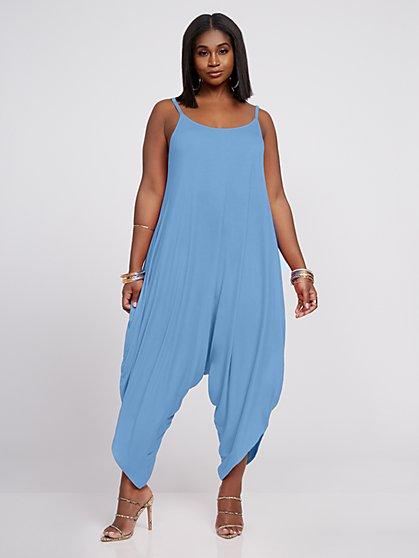 Plus Size Signature - Kaya Harem Jumper - Fashion To Figure