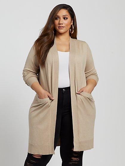 Plus Size Tori Cardigan Sweater - Fashion To Figure