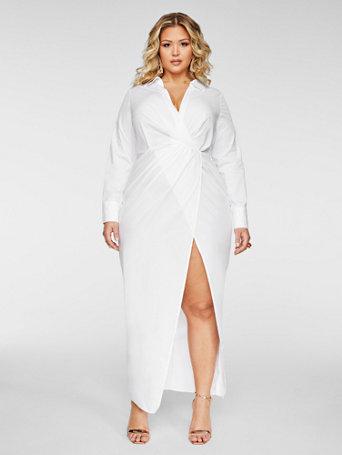 Taylor Maxi Shirtdress - Fashion To Figure