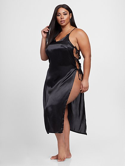 Plus Size 44.95 SATIN DRESS SLIP - Fashion To Figure