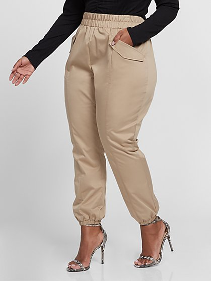 Plus Size Abigail Jogger Pants Gabrielle Union x FTF - Fashion To Figure