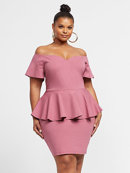 Pink Plus Size Dresses for Women | Fashion To Figure