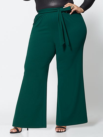 Plus Size Amy Wide-Leg Pants - Fashion To Figure