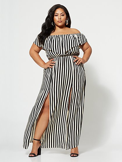 Plus Size Anabelle Maxi Dress - Fashion To Figure