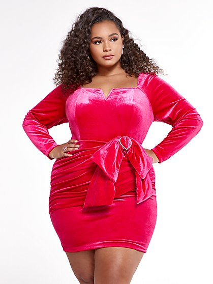 Plus Size Baby Rae Dress - SRV x FTF - Fashion To Figure