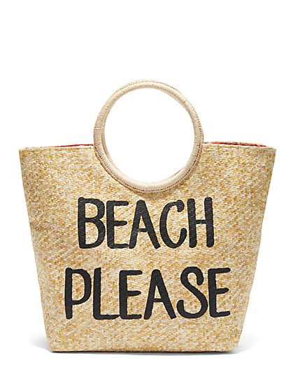 Plus Size Beach Please Tote Bag - Fashion To Figure