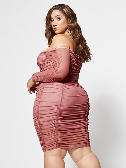 Size 1 Pink Plus Size Fall Seasonal Collection Dresses, Tops ...