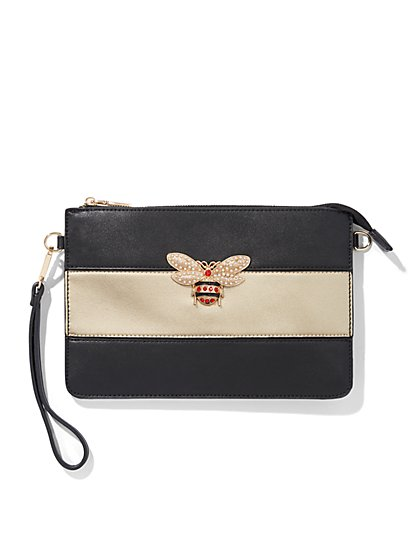 Plus Size Bumblebee Clutch - Fashion To Figure
