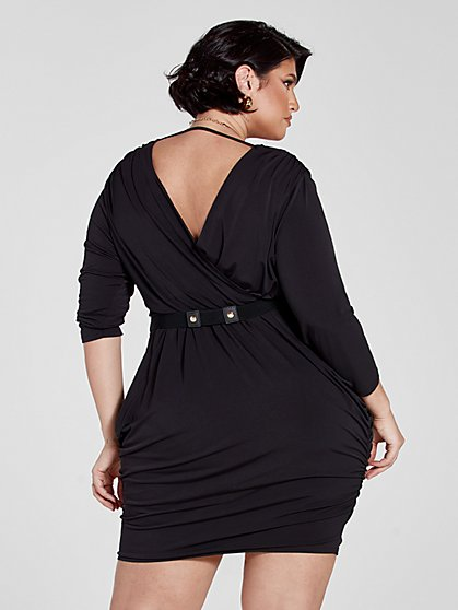 Cotton Jersey Dress Black and White Sack Dress Asymmetric Dress Balloon Dress Plus Size Dress Losse Fit Dress Summer Dress