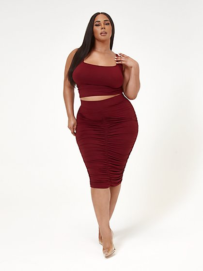 Plus Size Chantel Brushed Knit Tank Top - Fashion To Figure