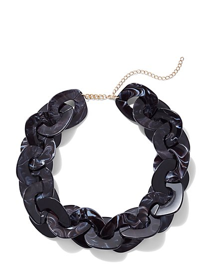 Plus Size Chunky Chain Necklace - Fashion To Figure