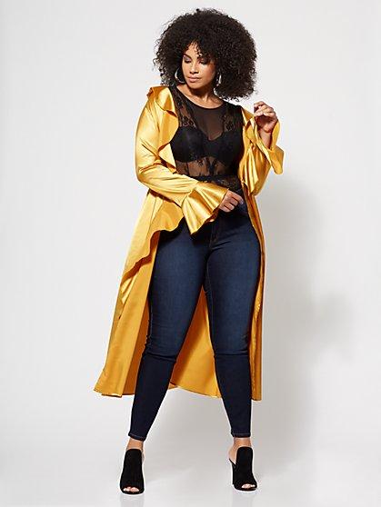 32cc9930b0b Size 1 Yellow Plus Size Fall Seasonal Collection Dresses