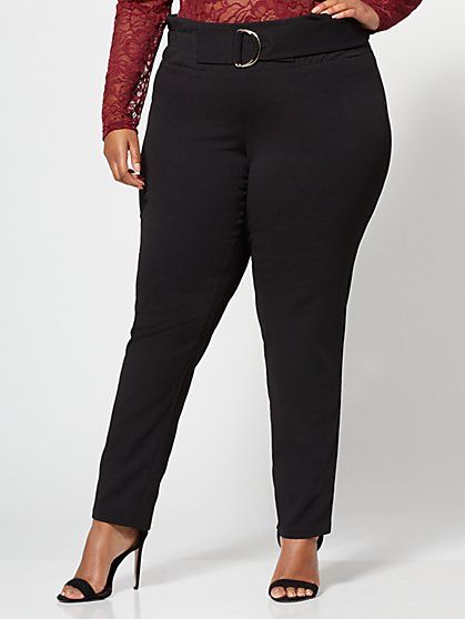 Plus Size Dani D-Ring Pants - Fashion To Figure