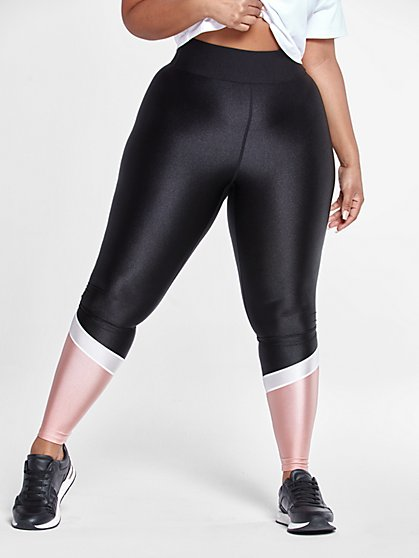 Plus Size Dawn Colorblock Leggings - Fashion To Figure