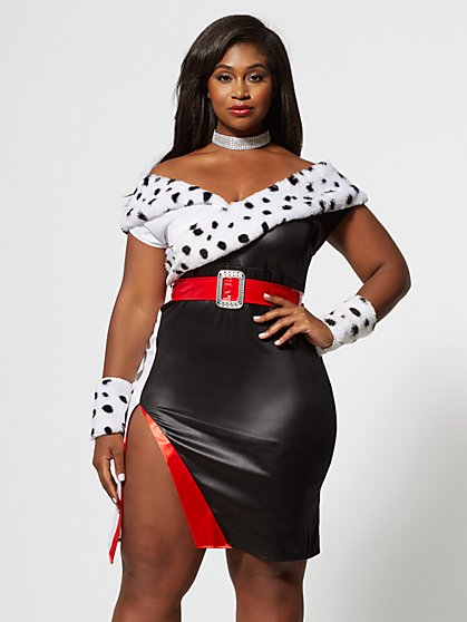 Plus Size Devilish Diva Costume - Fashion To Figure