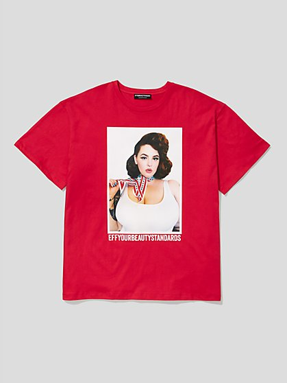 Plus Size EYBS Tess Holliday Tee - Fashion To Figure