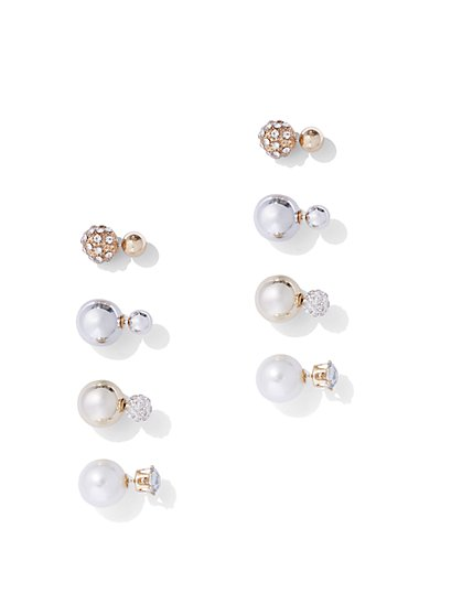 Plus Size Earring Stud Set - Fashion To Figure