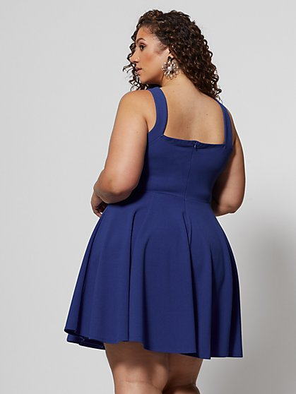 6a9ea6b93 ... Plus Size Ellie Flare Dress - Fashion To Figure ...
