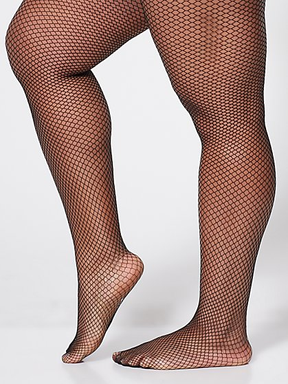Plus Size Fishnet Tights - Fashion To Figure
