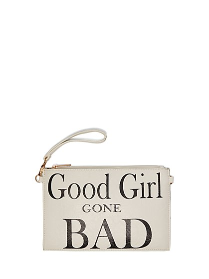 Plus Size Girl Gone Bad Wristlet Purse - Fashion To Figure