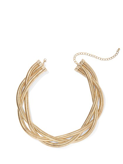 Plus Size Gold Chain Necklace - Fashion To Figure