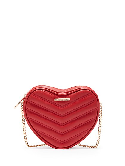 Plus Size Heart-Shaped Crossbody Purse - Fashion To Figure