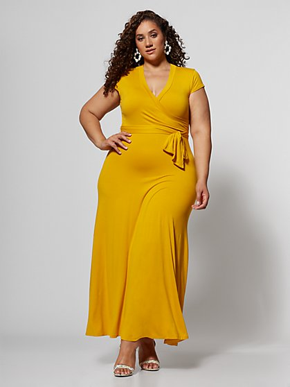 Yellow Plus Size Clothing | Fashion To Figure