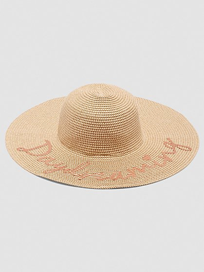 Plus Size In Your Dreams Floppy Hat - Fashion To Figure