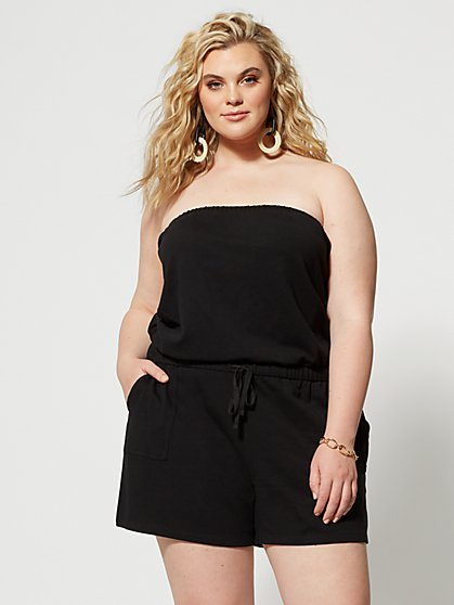 Plus Size Irina Convertible Romper - Fashion To Figure