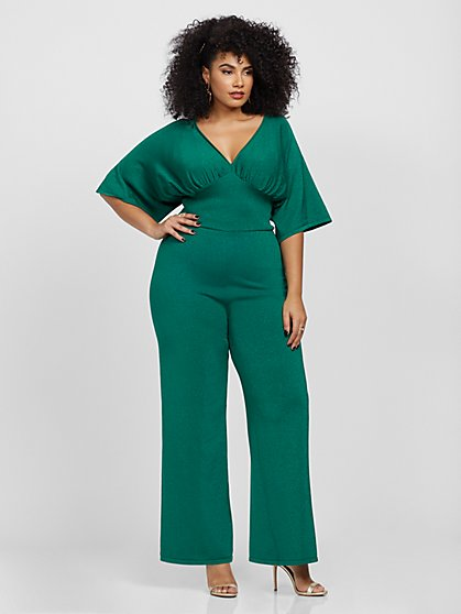 Plus Size Jane Sweater Jumpsuit - Fashion To Figure