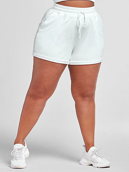 Plus Size Juliette French Terry Shorts - Fashion To Figure