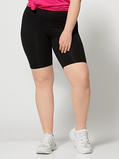 Plus Size Kalika Bike Shorts - Fashion To Figure