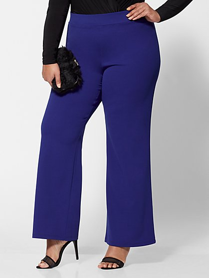 Plus Size Kari Wide-Leg Pants - Fashion To Figure