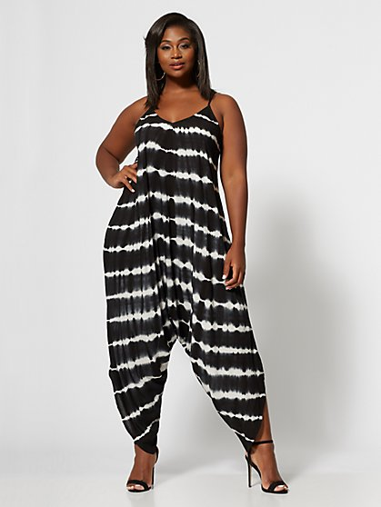 Plus Size Kaya Harem Jumper - Fashion To Figure