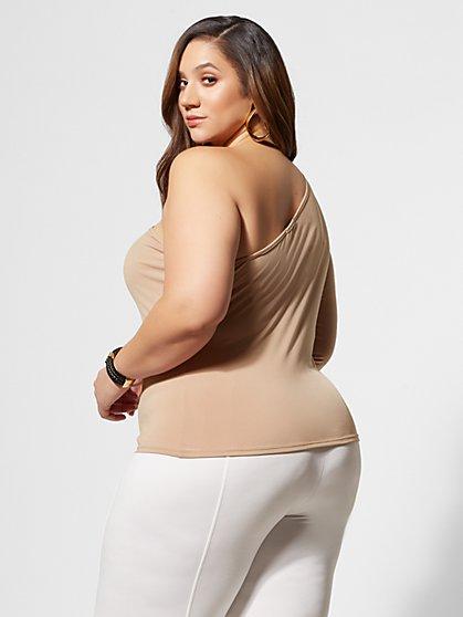 d0b9707e60d6 ... Plus Size Kendall One-Shoulder Top - Fashion To Figure ...