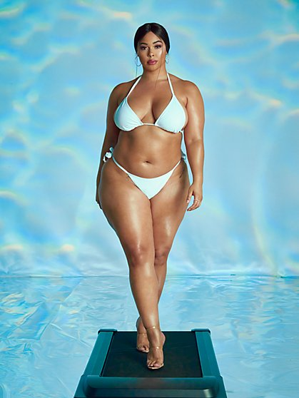Plus Size LeShaun Bikini Top - Tabria Majors x FTF - Fashion To Figure
