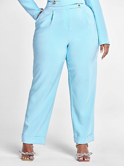 Plus Size Madison Suit Trousers - Fashion To Figure