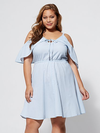 Plus Size Maeve Flare Dress - Fashion To Figure