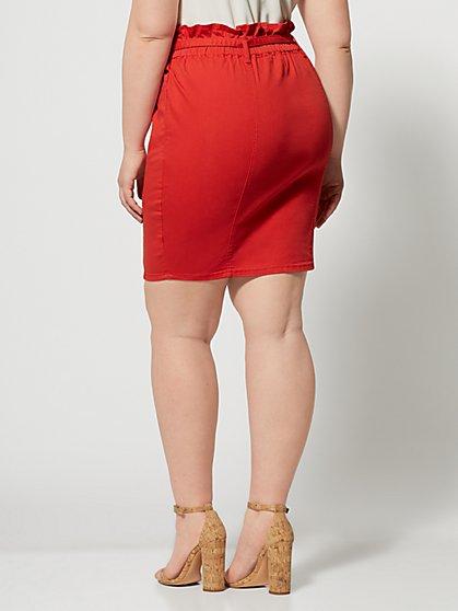 Venezia Red Wrap Skirt Plus Size 22 New Excellent Quality Clothing, Shoes & Accessories