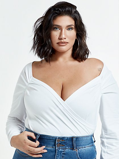 Plus Size Marilyn Sweetheart Top - Fashion To Figure