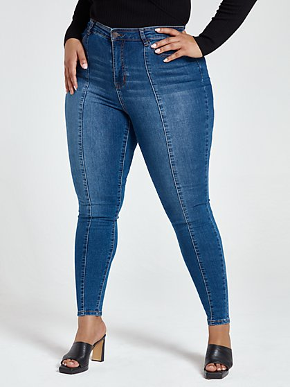 plus size high rise jeans and denim fashion to figure plus size high rise jeans and denim