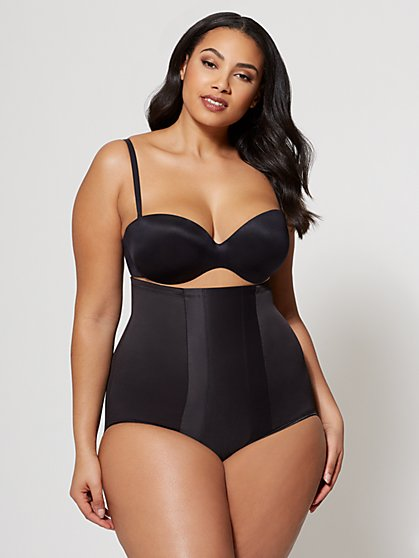 Plus Size Miraclesuit High-Waist Brief - Fashion To Figure
