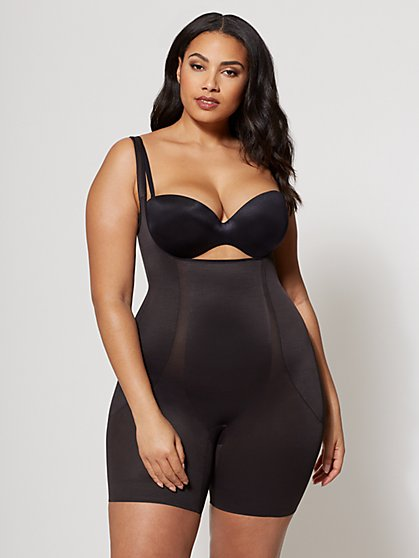 Plus Size Miraclesuit Torsette High-Waist Thigh Slimmer - Fashion To Figure
