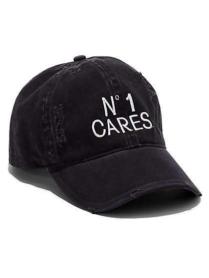 Plus Size No 1 Cares Baseball Cap - Fashion To Figure