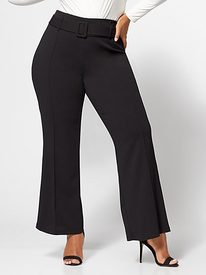 Plus Size Olivia Wide-Leg Pants - Fashion To Figure