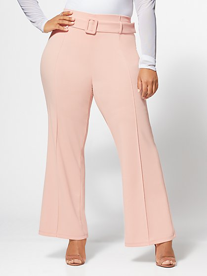 Plus Size Olivia Wide Leg Pants - Fashion To Figure