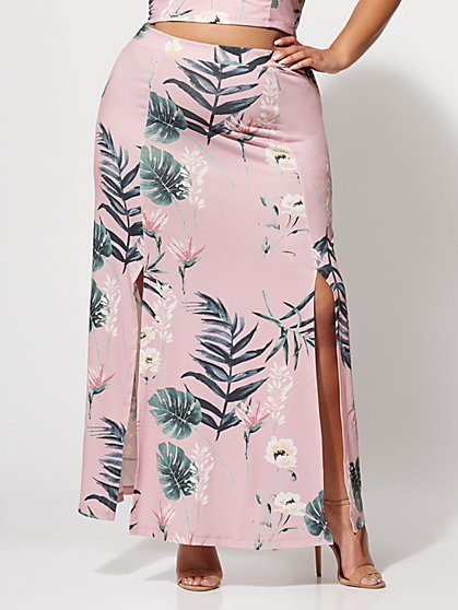 Plus Size Palma Maxi Skirt - Fashion To Figure