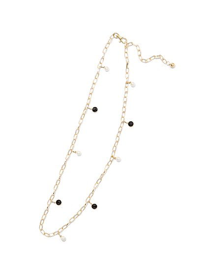 Plus Size Pendant Chain Belt - Fashion To Figure