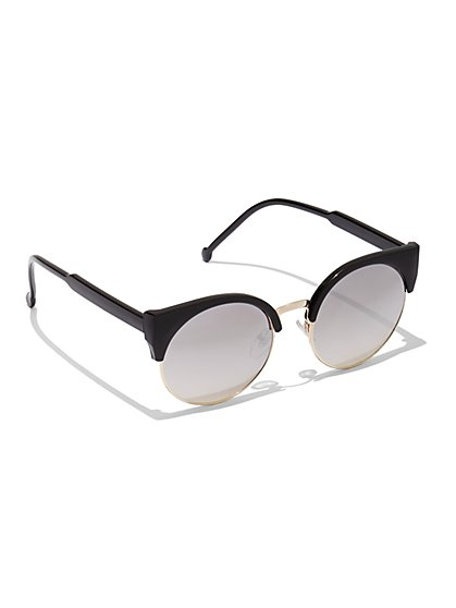 Plus Size Retro Cat Eye Sunglasses - Fashion To Figure