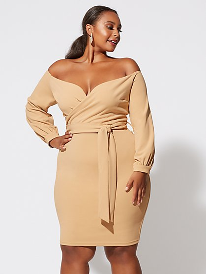 Plus Size Selena Bodycon Dress - Fashion To Figure